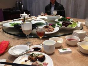 Hu Jintao's favorite food is baked pork back fat.